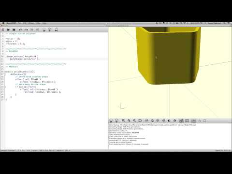 OpenSCAD - Working with polyhedrons