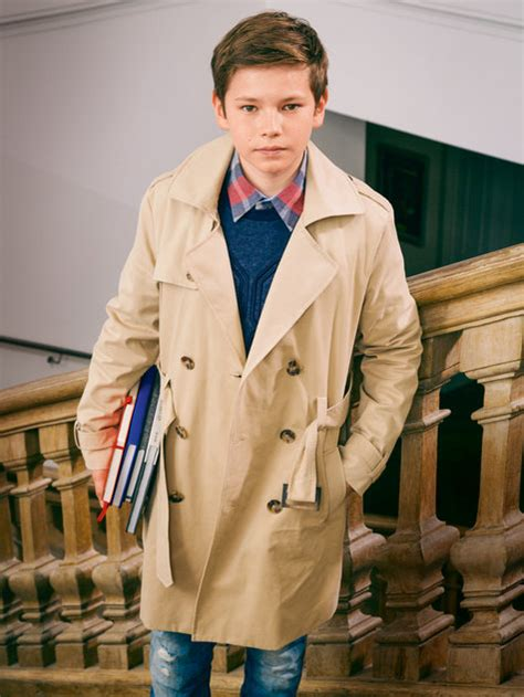 Boy's Trenchcoat 10/2014 #142 – Sewing Patterns