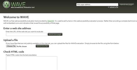 10 Free Web-Based Website Accessibility Evaluation Tools