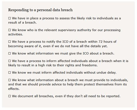 What are the breach notification requirements under EU Law