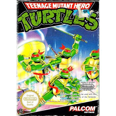 TEENAGE MUTANT HERO TURTLES NES SCN - Have you played a
