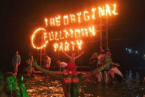 The Thailand Full Moon Party Dates 2019 {Everything You