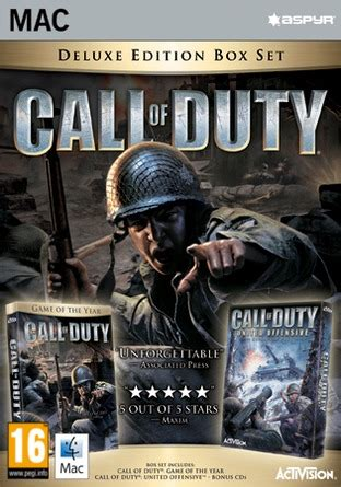 Call of Duty®: Deluxe Edition (MAC) (download) - - Discshop