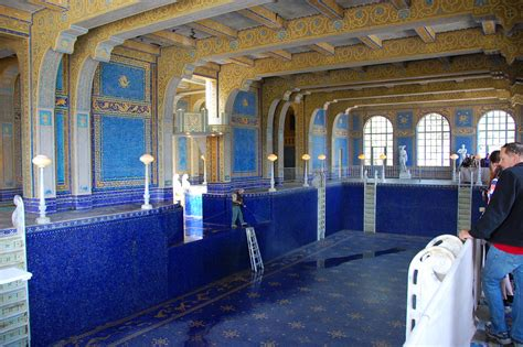 An empty pool at Hearst Castle - a photo on Flickriver