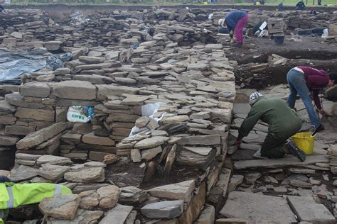 Digging up the Past @ The Ness of Brodgar – Archaeology Orkney