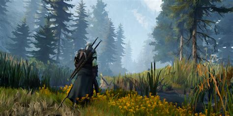 Here is what The Witcher 3 could look like as a cel-shaded